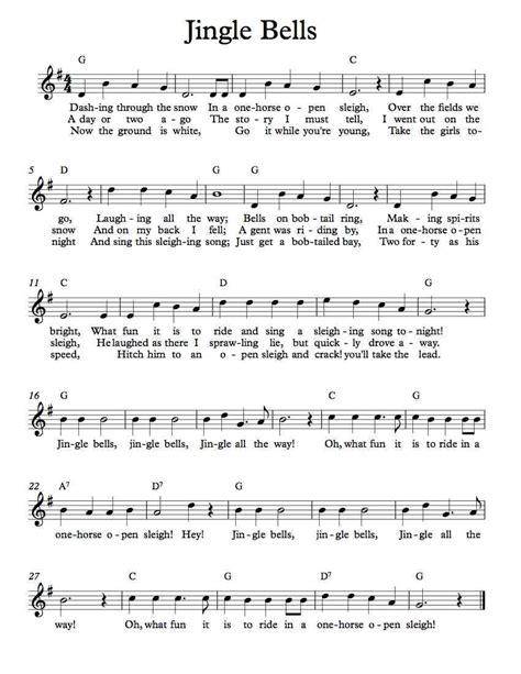 Jingle-Bell-SongMusic-Sheet