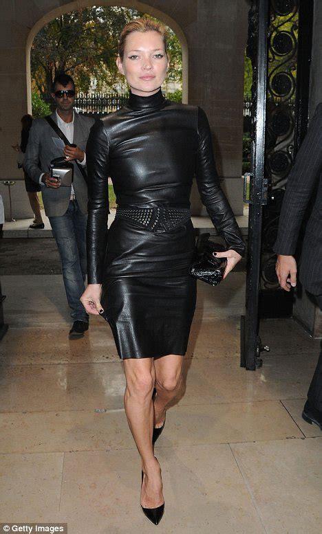 Kate Moss Leather Dress