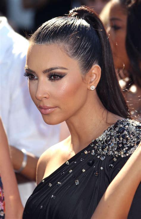 Kim-KardashianHigh-Ponytail