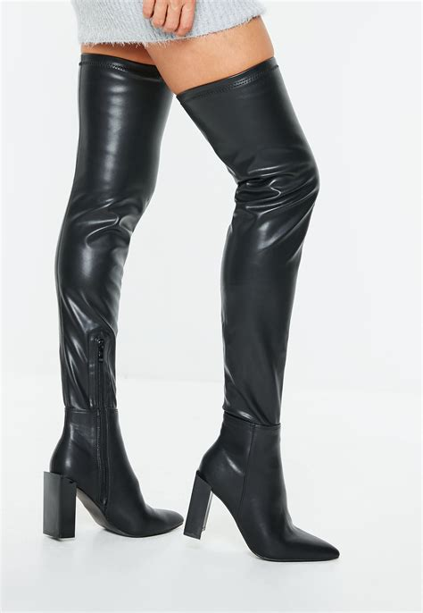 Knee High Leather Boots