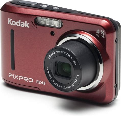 Kodak PIXPRO FZ43 16MP Digital Camera Black %7C NR3906 | Digital Cameras