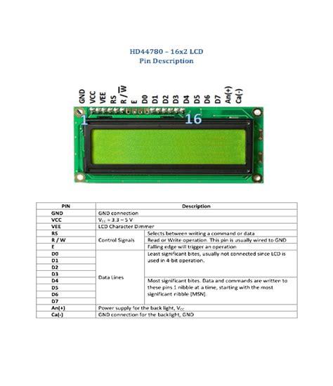 LCD-16X2-DataSheet