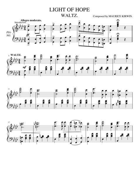 Light-of-HopePiano-Sheet-Music