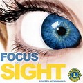 Lions Club Vision Screening Clip Art Logo