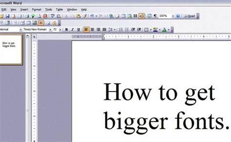 Make-FontsLarger
