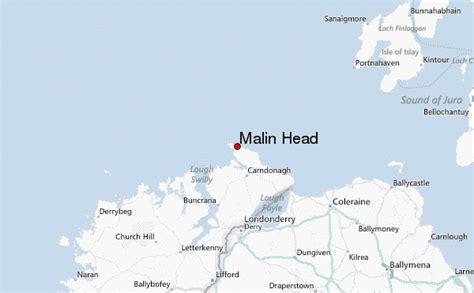 Malin Head Map