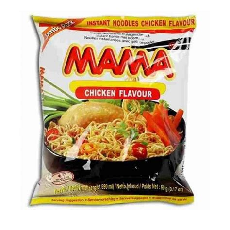 Mama Thai Instant Noodle 30 Pack Tom Yum Shrimp Flavour Spicy Hot Food Ramen New | Gps Store
