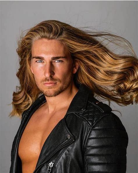 Man-LongBlonde-Hair