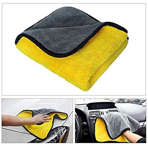 Microfiber Cleaning Towel Home Car Clean | Gps Store