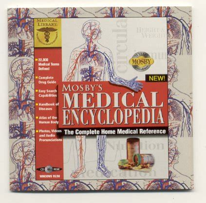 Mosby\'s Medical Encyclopedia CD 1998 The Learning Company Windows | Gps Store