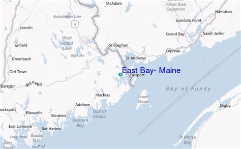 Name Large Bay East Maine
