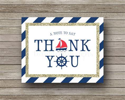 Nautical-ThemedThank-You-Cards