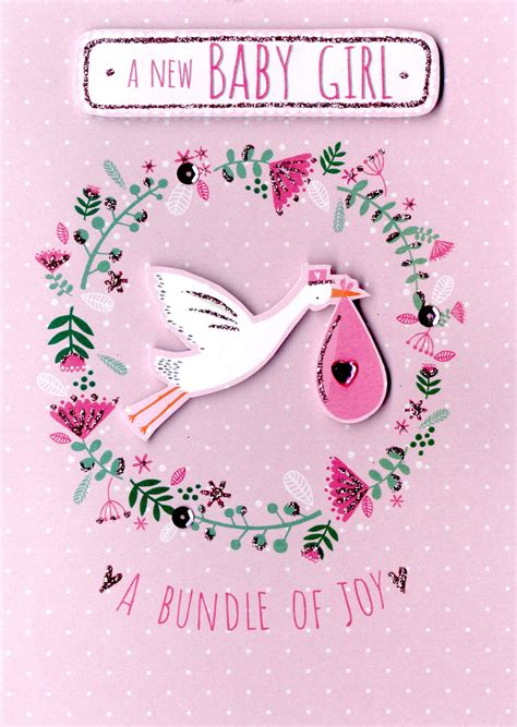 New-BabyGirl-Card-Messages