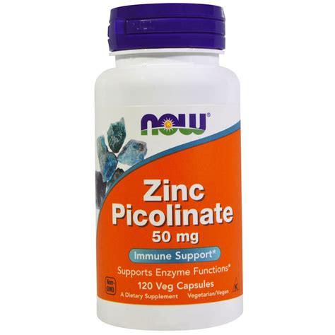 Now Foods Zinc Picolinate, 50 | Gps Store