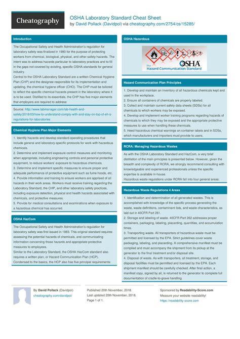 OSHA-13Cheat-Sheet