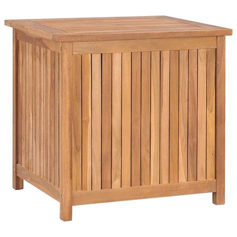 Outdoor-Teak-StorageBox