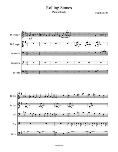Paint-It-Black-TrumpetSheet-Music