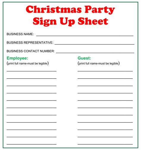 PartySign-Up-Sheet-Template