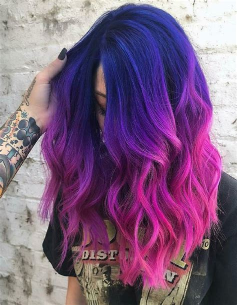 Pink-and-Purple-HairDye