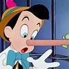 Pinocchio Lying