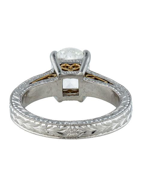 PlatinumCushion-Cut-Engagement-Rings