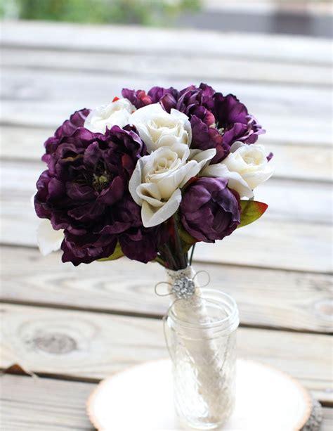 Plum-WeddingFlower-Bouquets