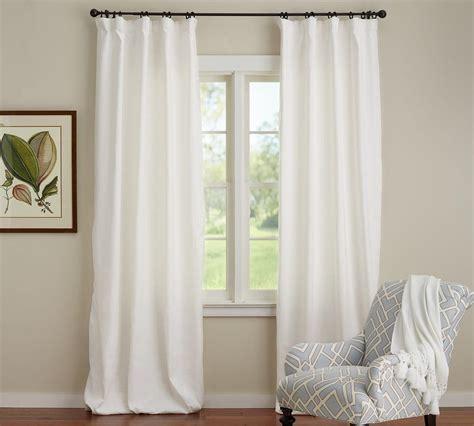 Pottery-BarnLinen-Curtains