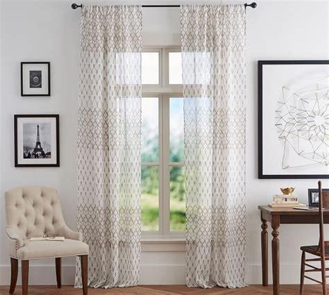 Pottery-BarnSheer-Curtains