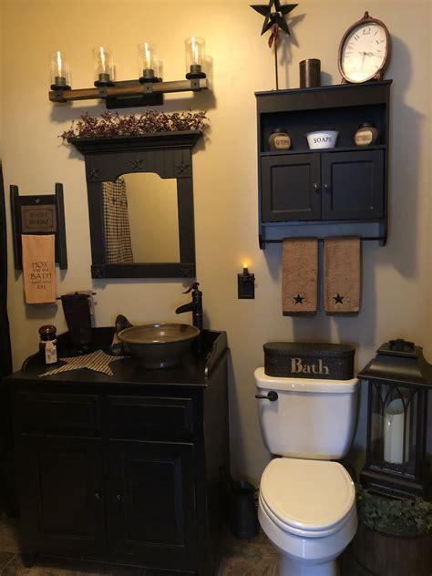 Primitive Bathroom Decorating Ideas