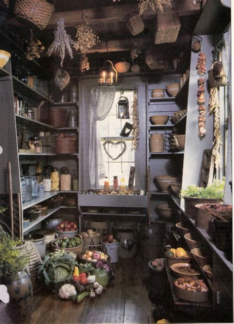 Primitive Country Pantry Ideas