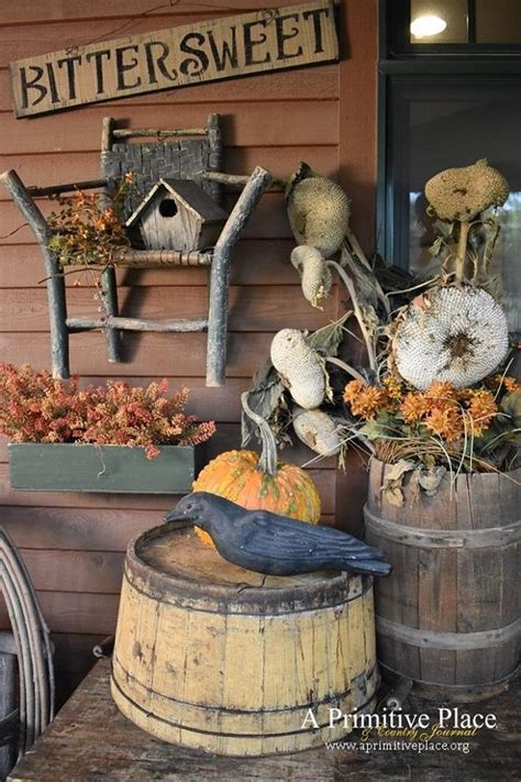 Primitive Outdoor Decorating Ideas