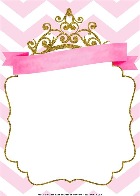 Princess-Baby-Shower-InvitationTemplate-Free