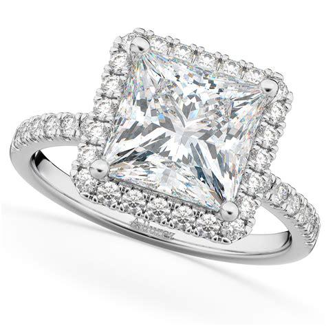 Princess-CutHalo-Engagement-Ring