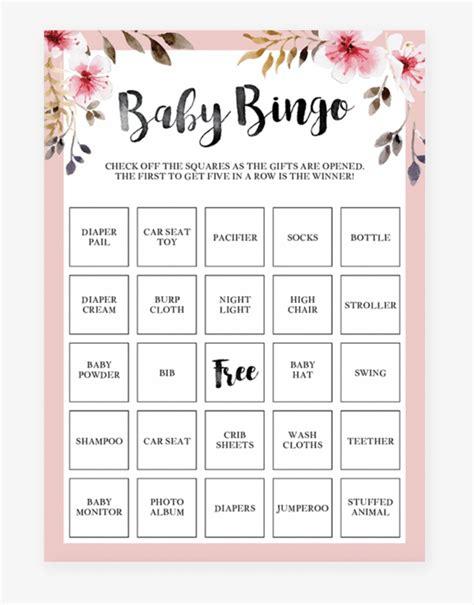 Printable-Baby-Shower-BingoWords