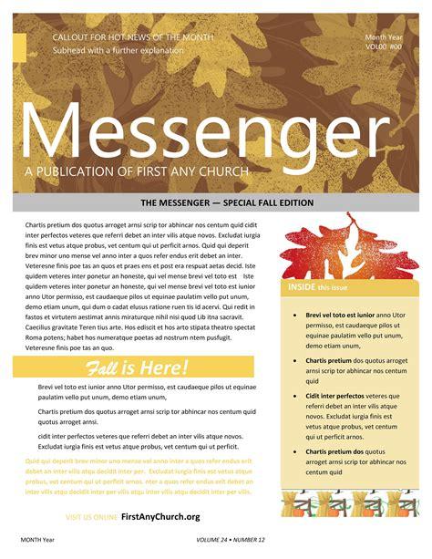 Printable-ChurchNewsletter-Templates