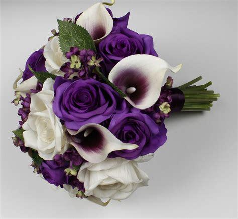 Purple-Calla-Lily-Bouquet