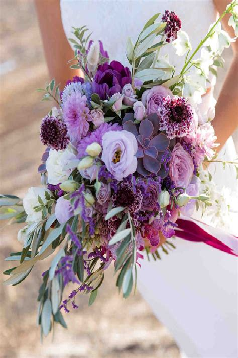 Purple-Flower-Bouquetsfor-Weddings