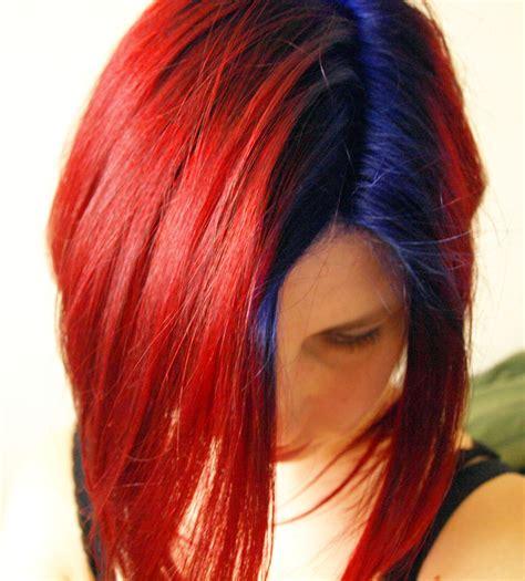 Purple-RootsRed-Hair