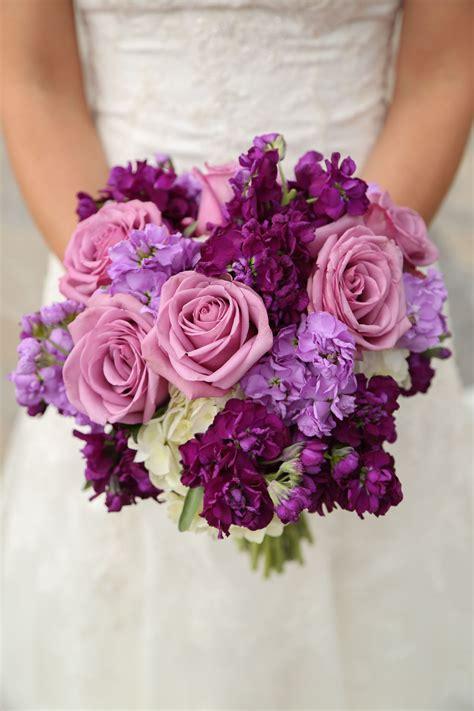 PurpleBridal-Bouquets