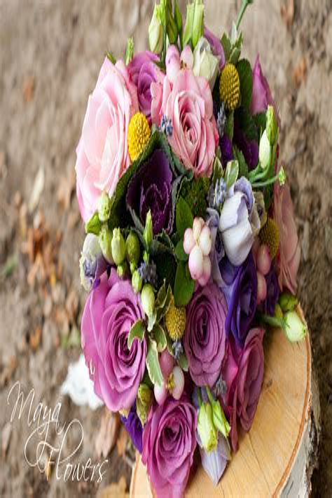 PurpleBridesmaid-Bouquets
