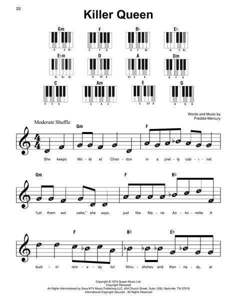 Queen-PianoChords