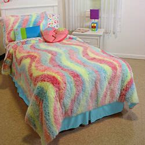 Rainbow-Polka-DotBedding