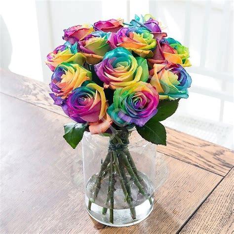 RainbowFlower-Bouquet