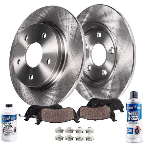 Rear Brake Rotors And Ceramic Pads 2002 2003 2004 2005 Ford Explorer Mountaineer | Watches Store Online Reviews