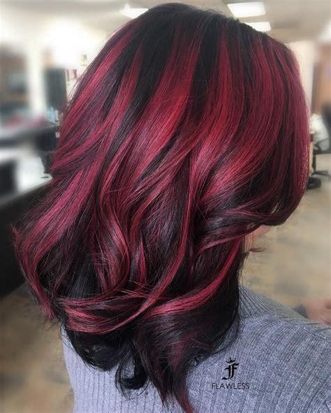 Red-Black-HairColor