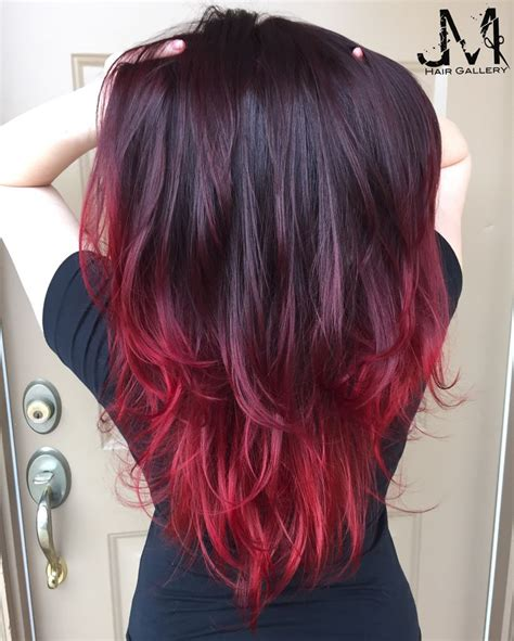 Red-Hairwith-Purple-Tips