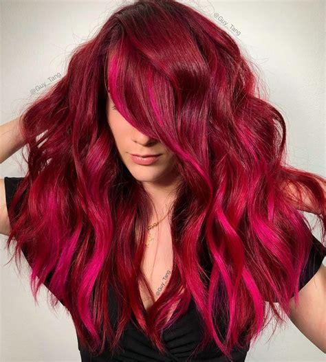RedPink-Hair