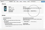 Reset Password On iPhone 5 Software Update On Itune