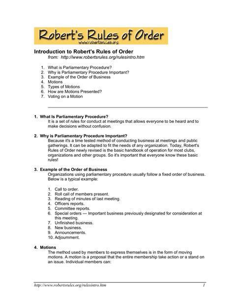 Robert's-Rules-of-Orderfor-Meetings