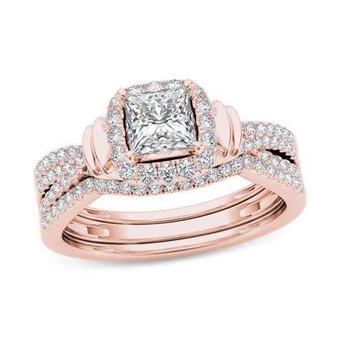 Rose-GoldPrincess-Cut-Engagement-Rings